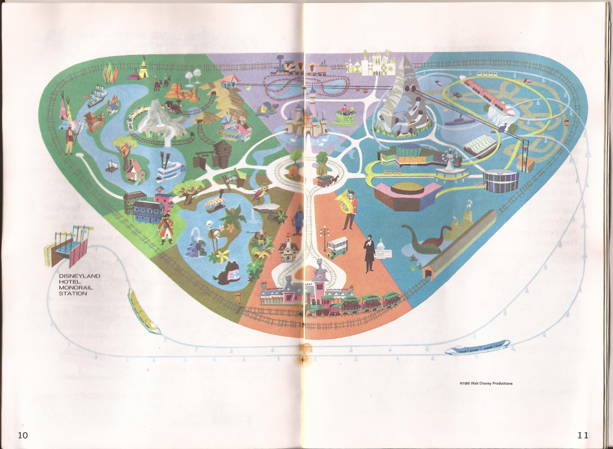 1968 Disneyland Guide and Map - Coaster101 on disneyland hotel map, tomorrowland map, 1981 disneyland map, theme park map, printable disneyland map, tokyo disneyland map, disneyland transportation map, epcot map, original disneyland map, six flags great america map, disneyland florida map, disneyland area map, disney map, animal kingdom map, disneyland parade map, tokyo disneysea map, disneyland parking lot map, magic kingdom map, universal studios map, hong kong disneyland map,