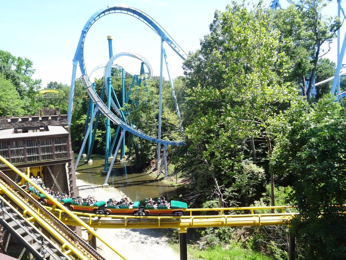 Busch Gardens Williamsburg Coasters Reviewed Coaster101