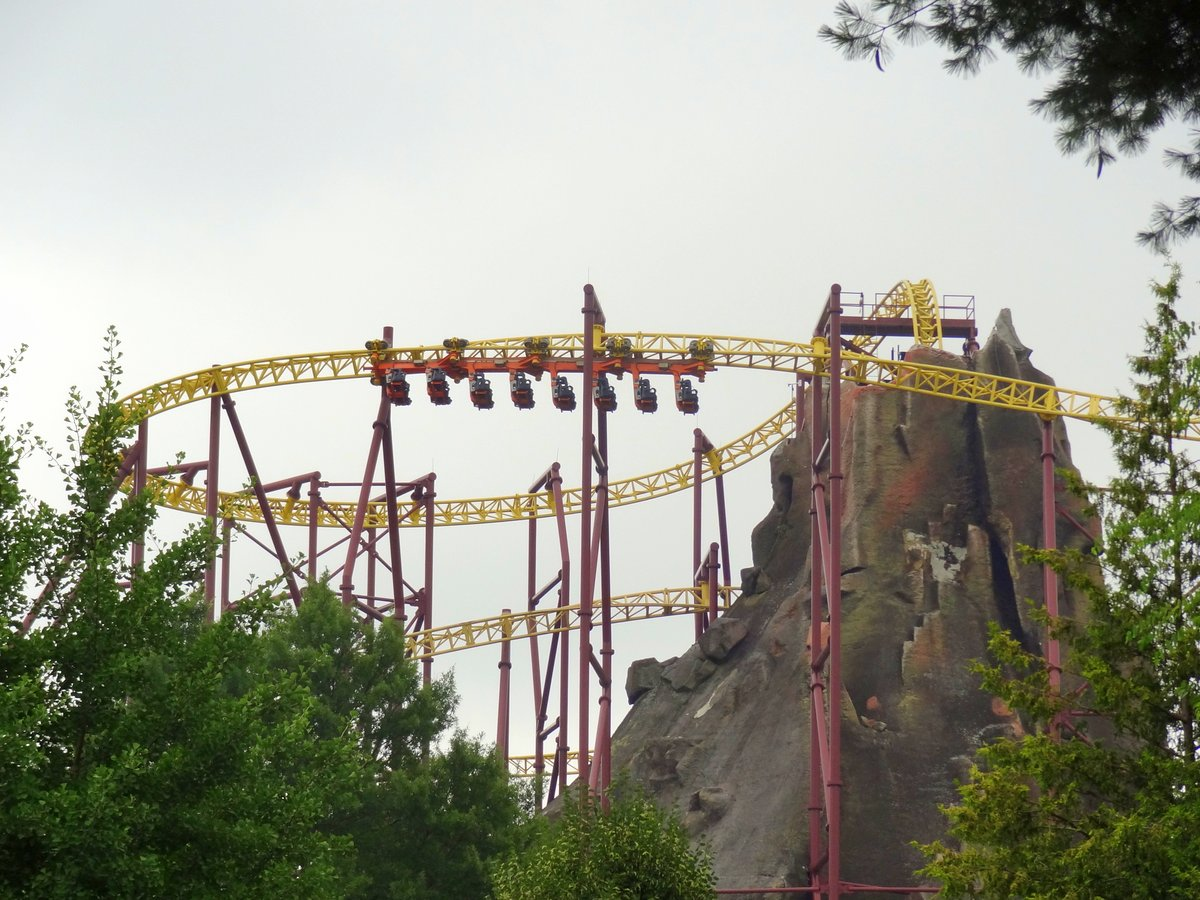 Kings dominion discount coupons - The Coaster Then Circles The Mountain Making A Series Of Heartline Rolls You Ll Definitely Want To Secure All Of Your Loose Articles On This One