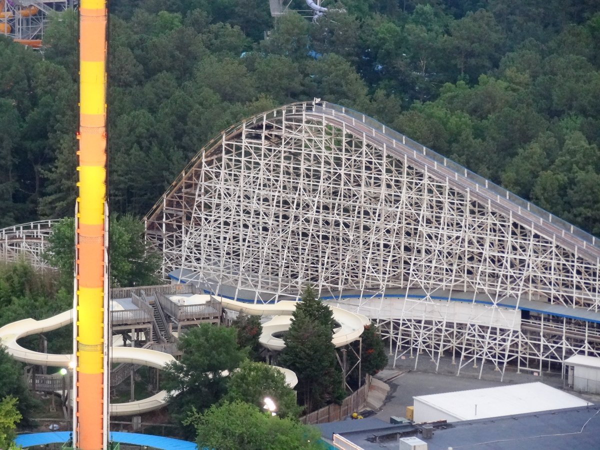 Kings Dominion Coasters Reviewed, Part 1 - Coaster101
