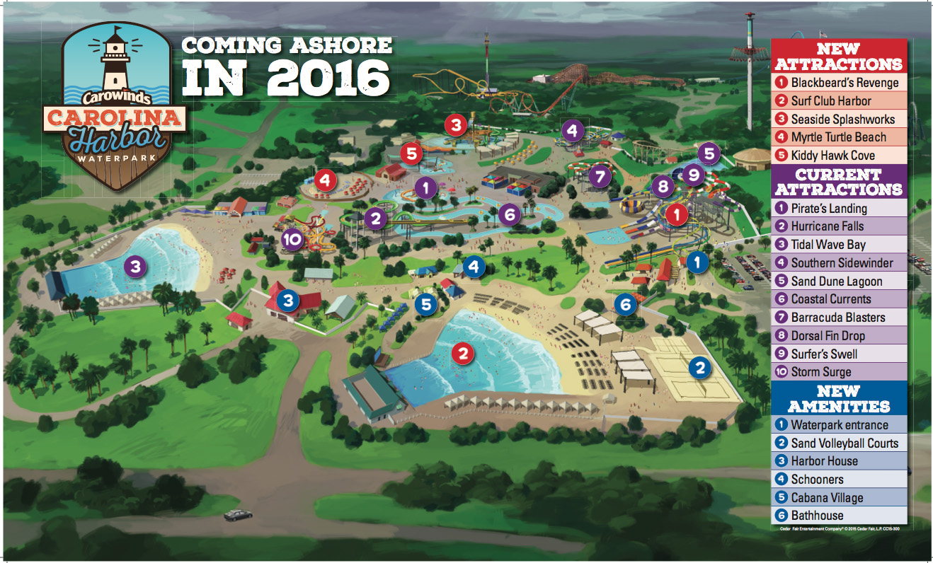 Carowinds' Boomerang Bay Water Park to become