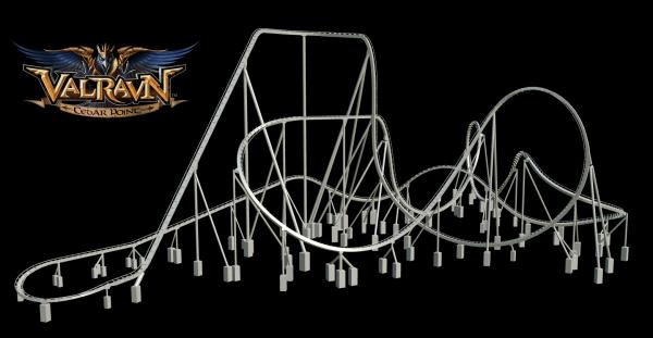 cedar point 2016 roller coaster layout
