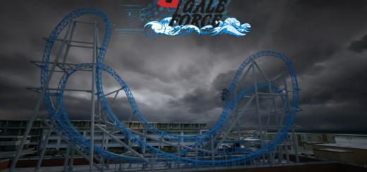 galeforce roller coaster