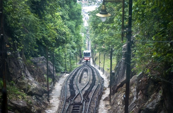 funicular train example