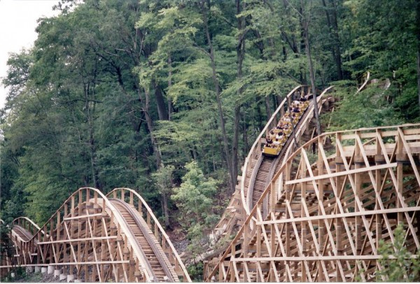 Boulder Dash, one of the coasters GCII has refurbished in the past.