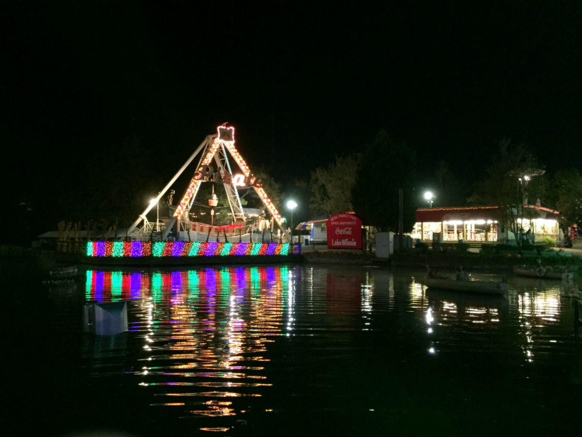 trip report lake winnepesaukah at halloween coaster101