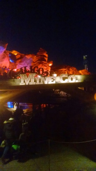 The Calico Mine Ride has some of the best animatornics and set designs outside of Disneyland, it's an excellent dark ride.