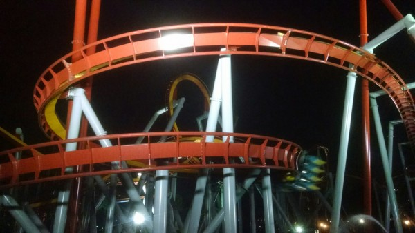 Silver Bullet ran all day and night with one train.