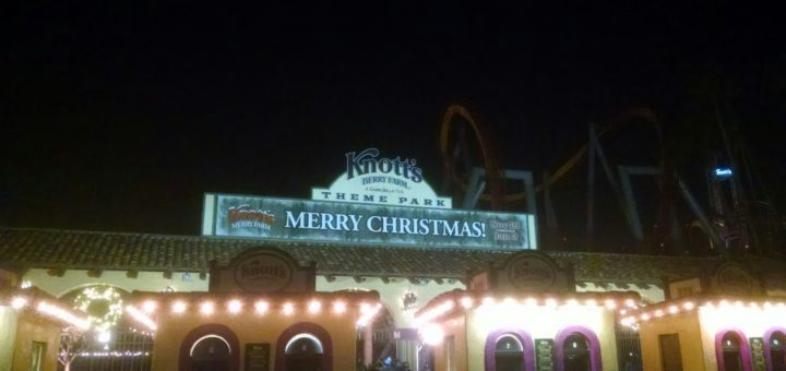 Knott's Merry Farm Entrance
