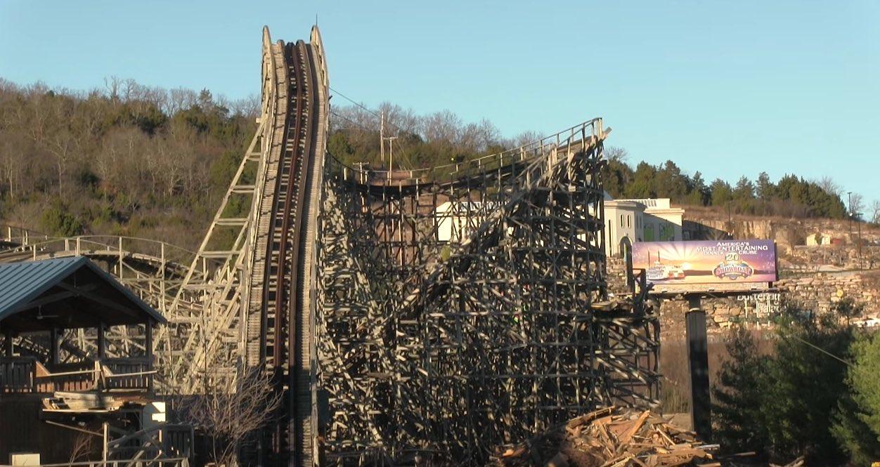 Ozark Wildcat Wooden Roller Coaster Torn Down - Coaster101
