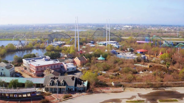 Six Flags New Orleans coasters removed
