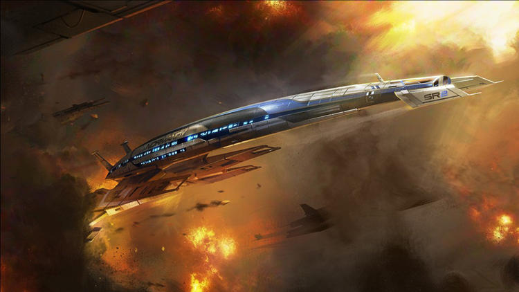 Sci-Fi space battles of Mass Effect should appeal to everyone, right?