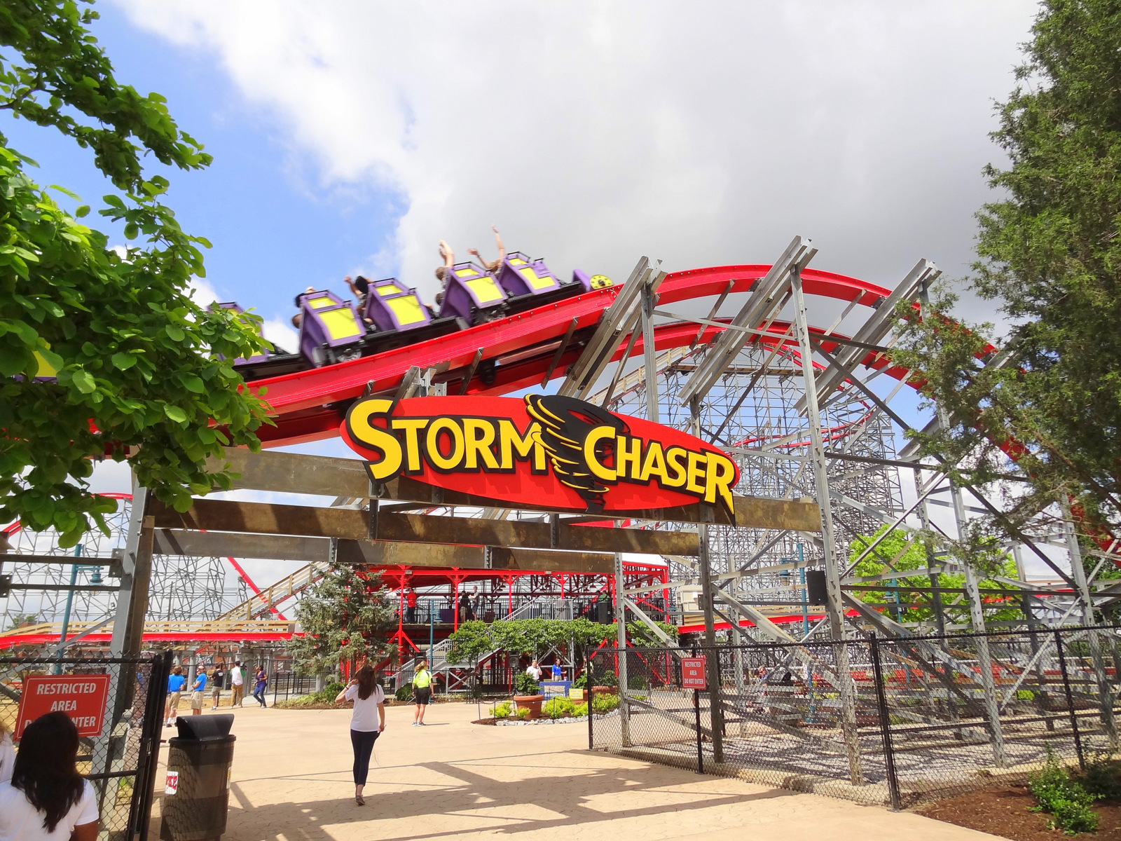 Storm Chaser al Kentucky Kingdom