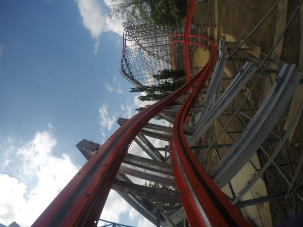 overbank turn kentucky kingdom coaster