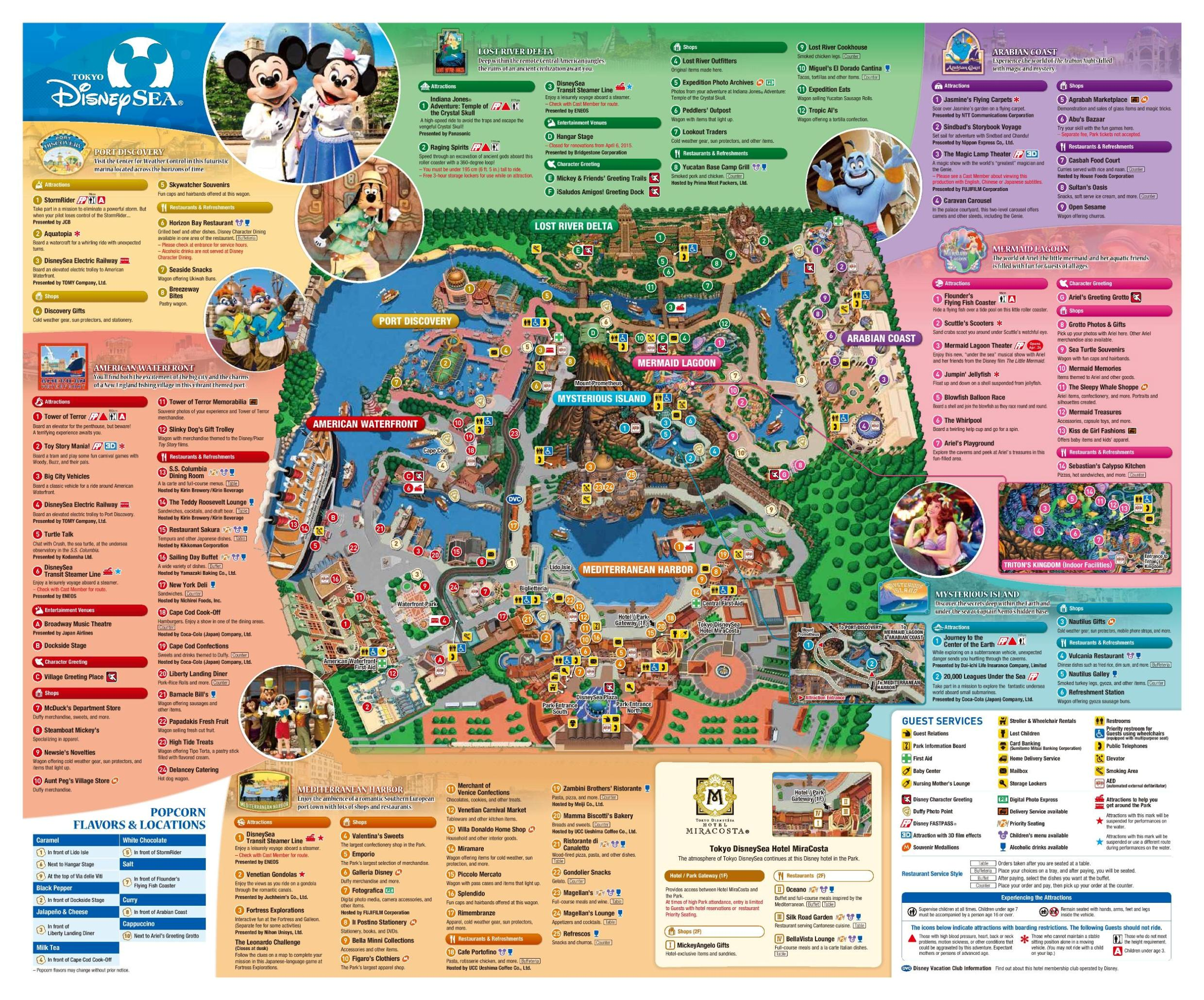 Is tokyo disneysea the worlds best theme park part 1 coaster101 tokyo disneysea map gumiabroncs Choice Image