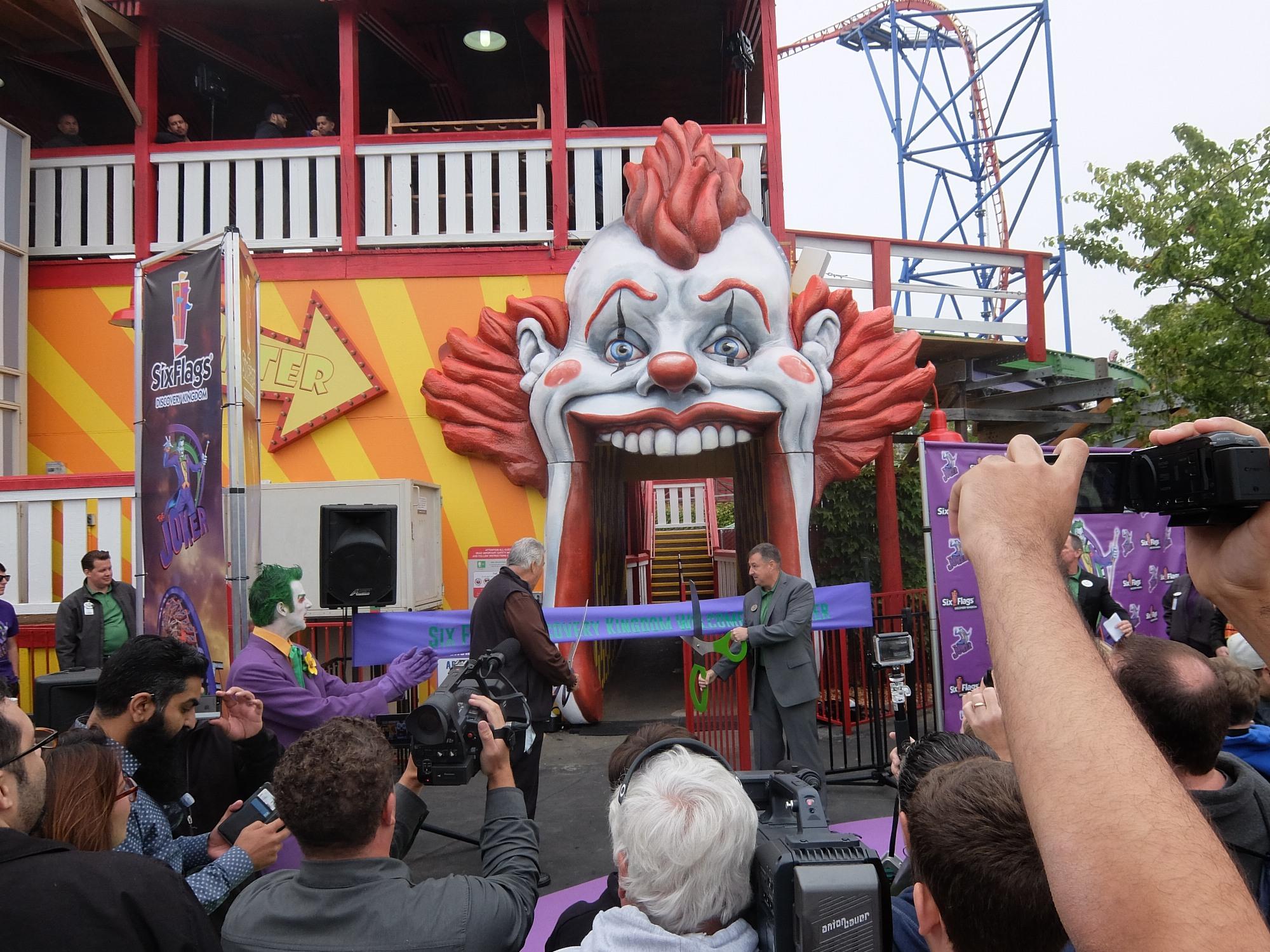 The Joker officially opens!