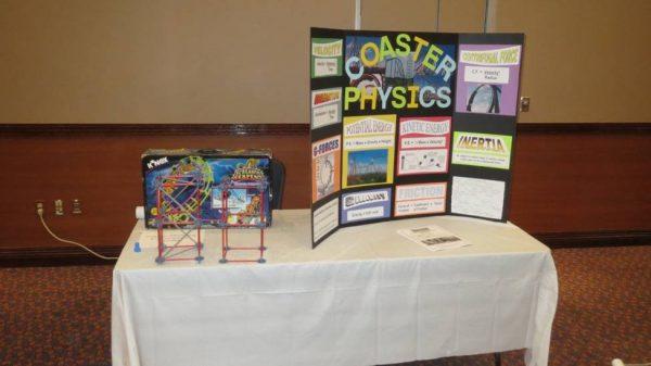 coaster model display