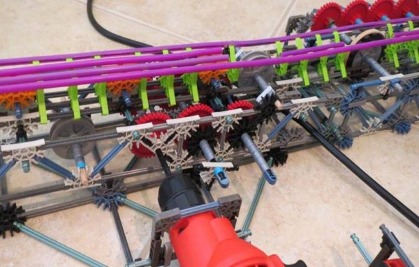 drill used for knex coaster launcher