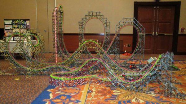 giant knex roller coaster model