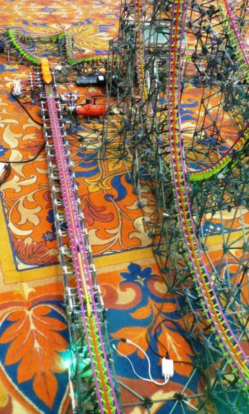rippin rocket knex coaster transformed