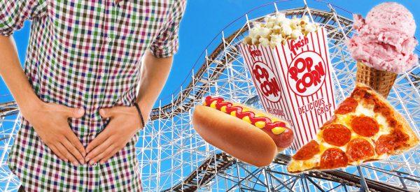 Should I eat before riding a coaster?