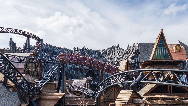 amazing taron photos on ride pov video released coaster101 On linear synchronous motor roller coaster
