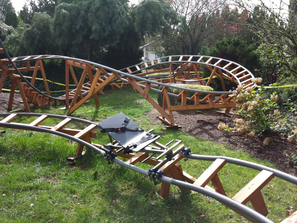 Designing a Safe Backyard Roller Coaster with Paul Gregg  Coaster101