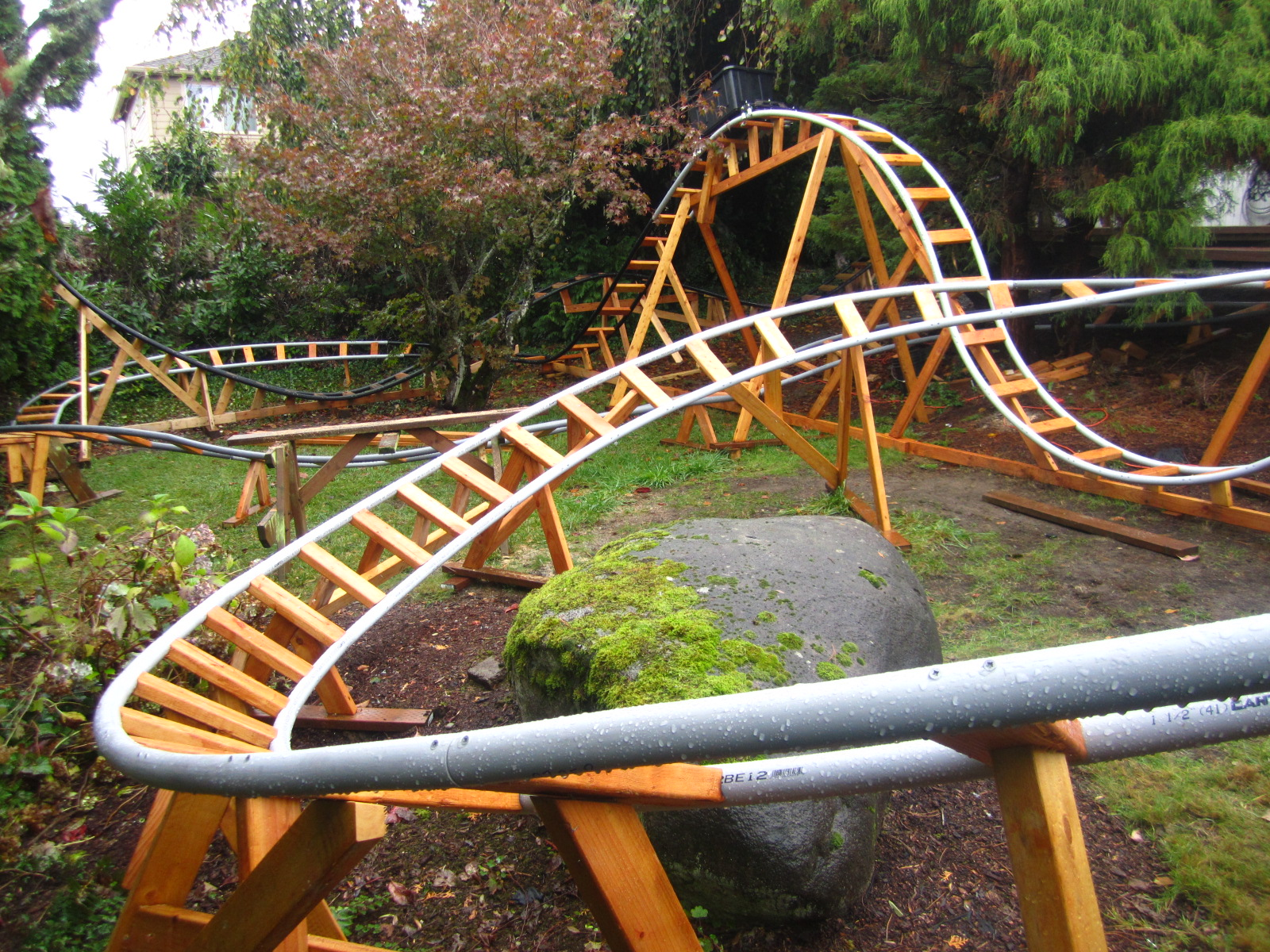 Backyard Roller Coaster Plans : Designing a Safe Backyard Roller Coaster with Paul Gregg  Coaster101
