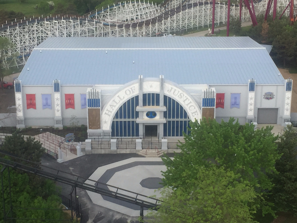 Justice League: Battle for Metropolis at Six Flags Great America