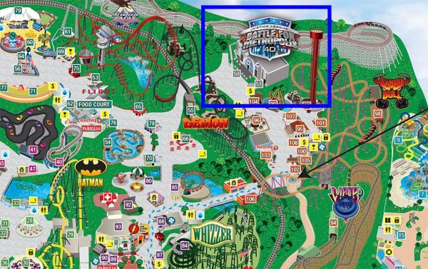 2016 SFGAm Park Map and Guide