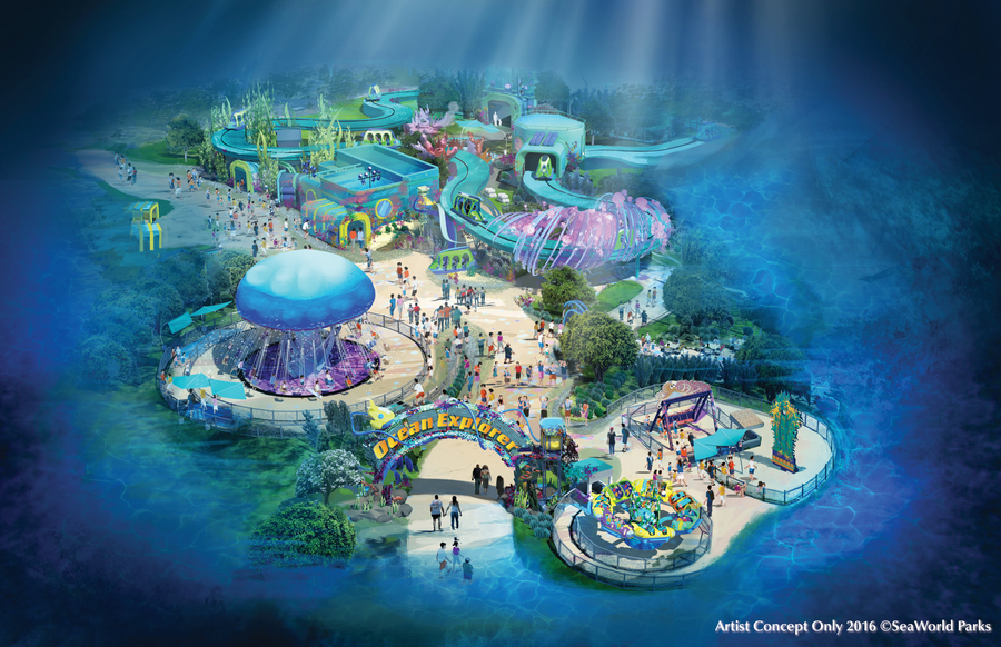 Seaworld San Diego Adding New Area And New Dark Ride In