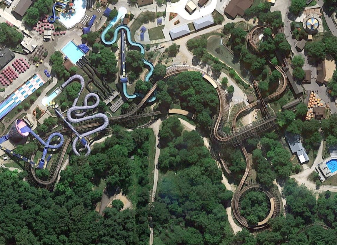 Review revamped legend at holiday world coaster101 legend layout gumiabroncs Image collections