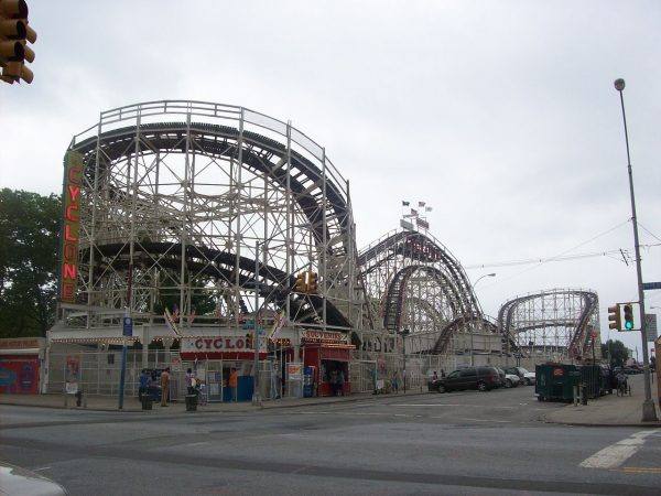 One of the oldest roller coasters GCII has refurbished is the Coney Island Cyclone.