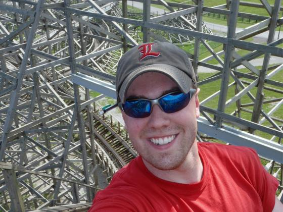 Adam House, senior engineer at Great Coasters International, and really good interviewee.