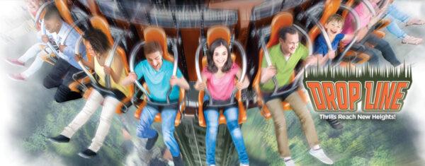 drop line drop tower ride