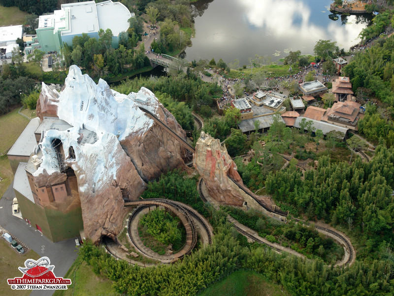 A-Z Coaster of the Week: Expedition Everest - Coaster101