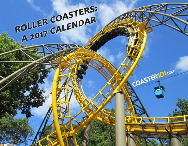 Buy a 2017 roller coaster calendar from Coaster101, and we'll give 50% of the net proceeds to Give Kids The World!
