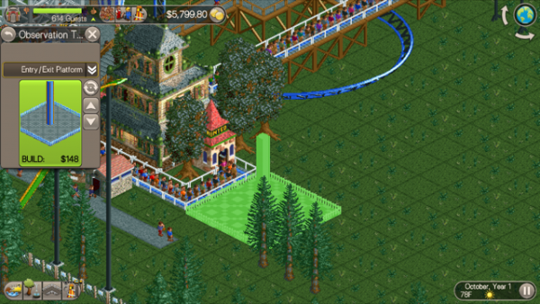 Review: Roller Coaster Tycoon Classic - Coaster101