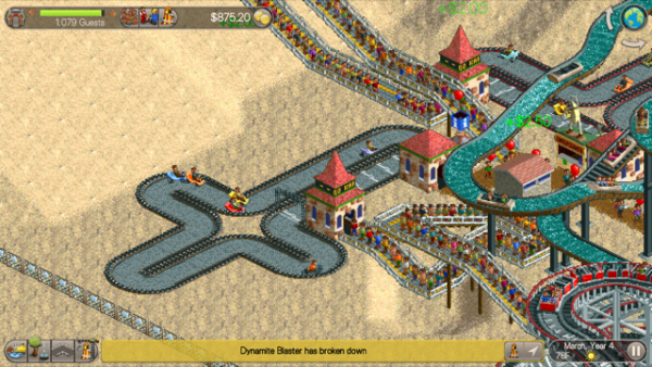 How To Install Roller Coaster Tycoon 3 Tracks In The Sand
