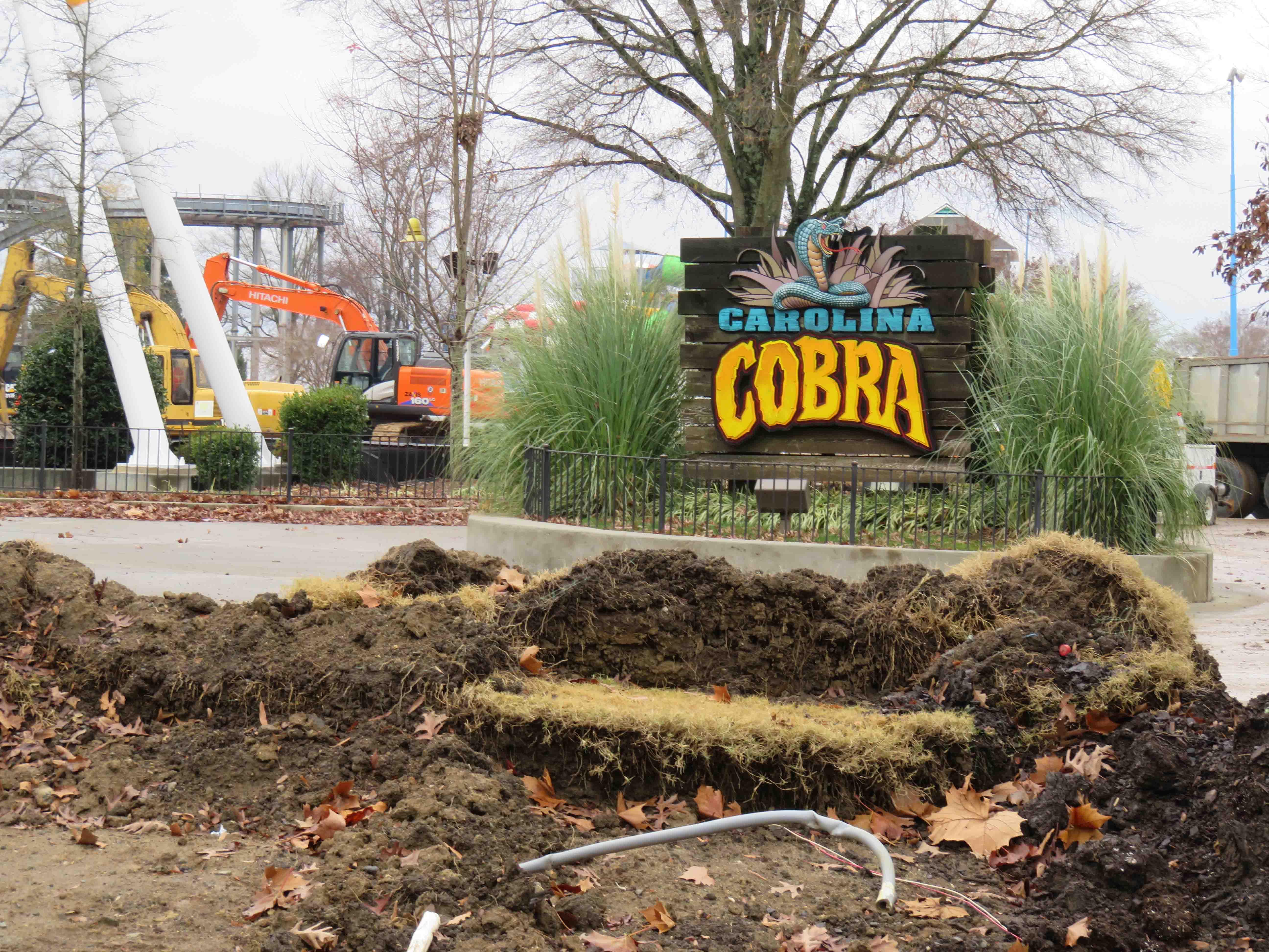 Carowinds Winter 2016 Construction Update - Coaster101
