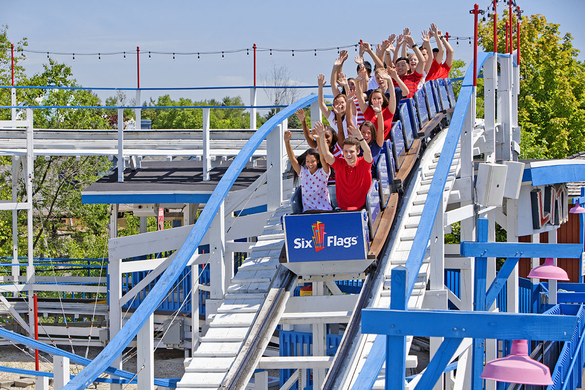 A Z Coaster Of The Week Little Dipper At Six Flags Great