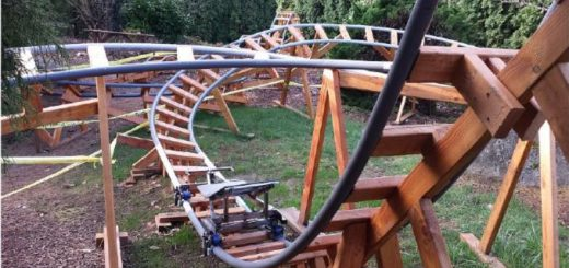 paul gregg safe backyard roller coaster