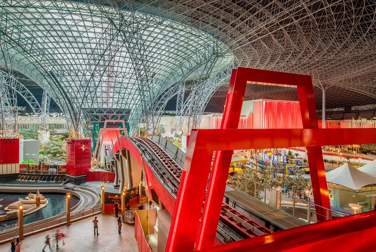 Ferrari World Abu Dhabi Set To Launch Turbo Track Coaster