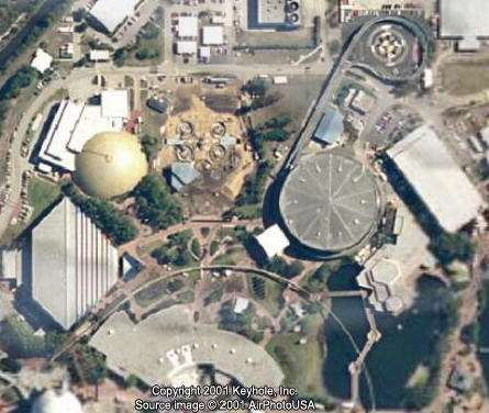 mission space under construction aerial view