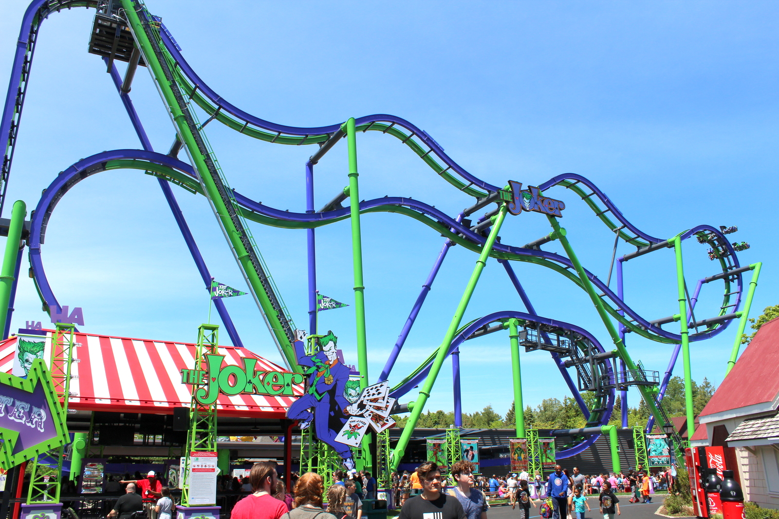 Joker at Six Flags Great America