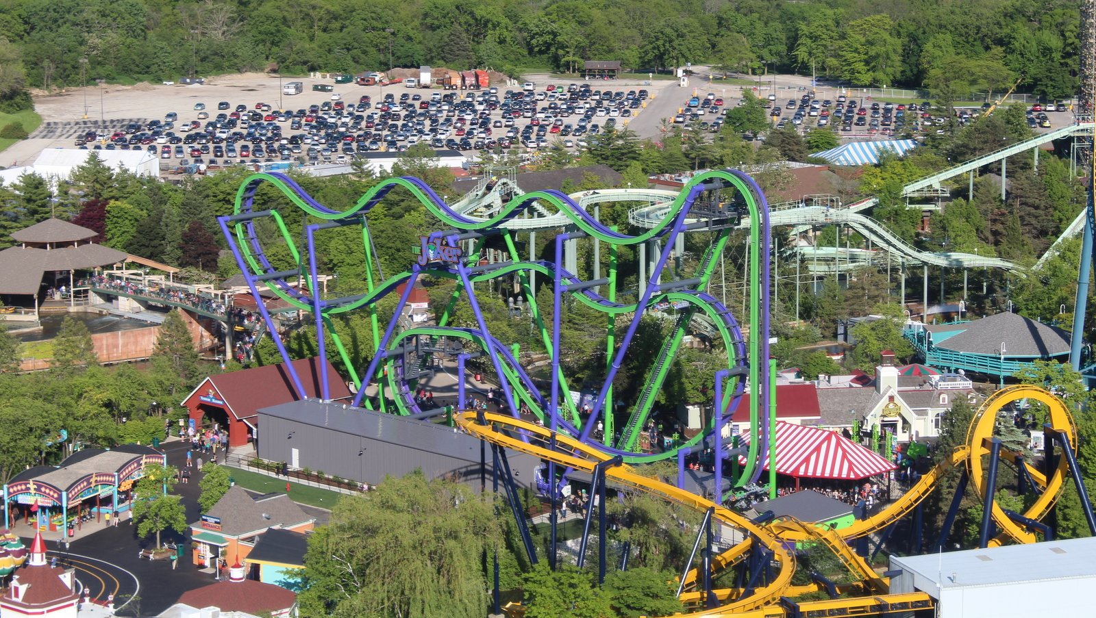 Review Joker At Six Flags Great America Coaster101 Roller Coaster Here Is A Wonderful Diagram Which Shows What Happened There Nothing Like It Anywhere Near Americas Turf And For That Reason I Have No Doubt This Ride Will Be Massive Success The Park