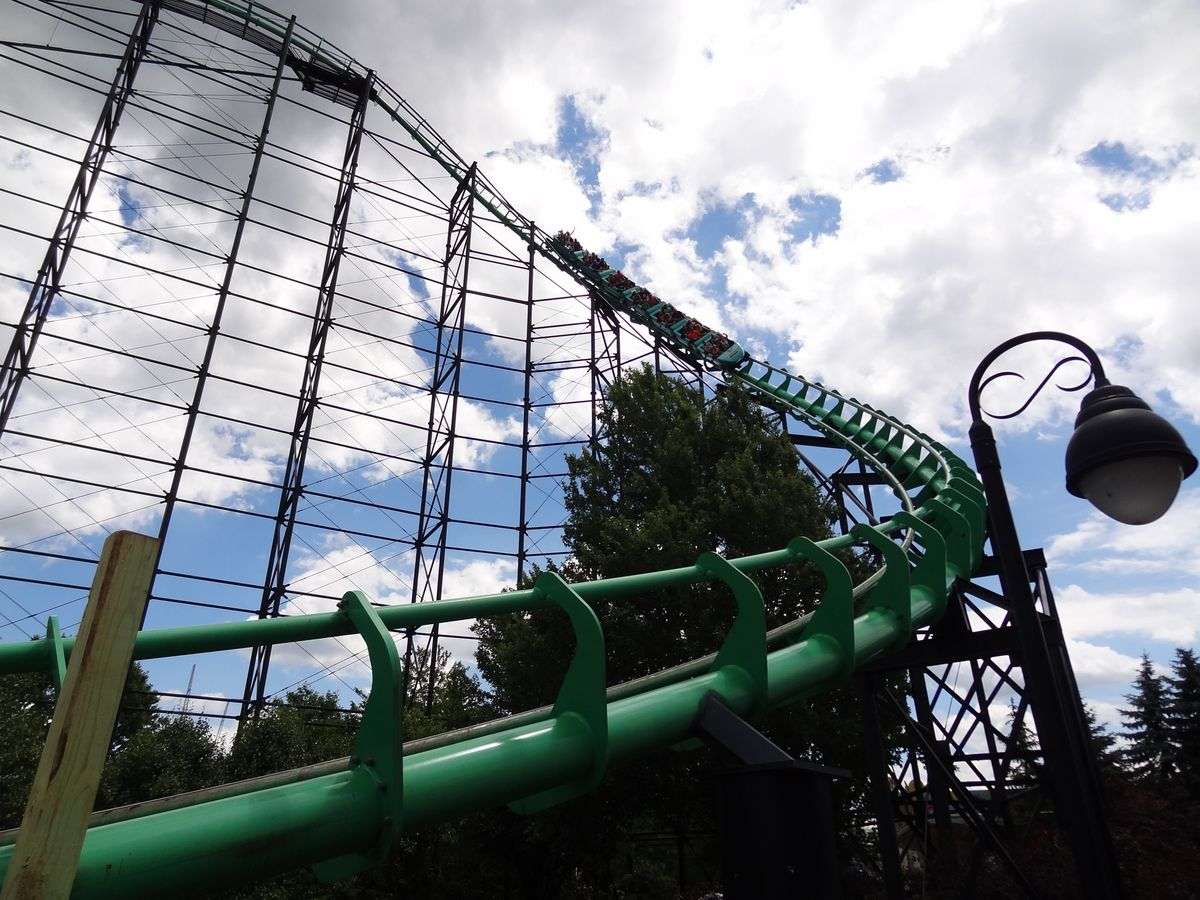 kennywood roller coasters ranked by a first time visitor coaster101