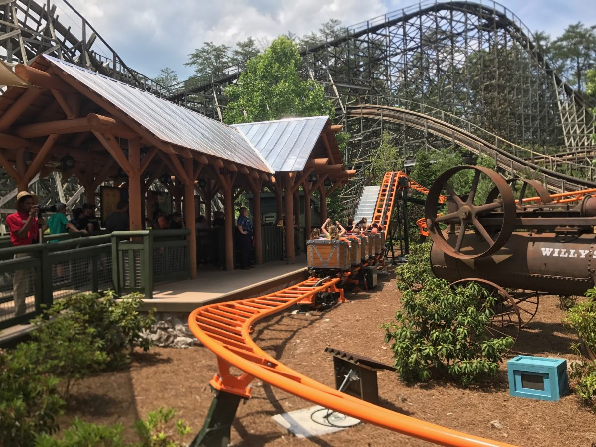 Reviews: Whistle Punk Chaser, Front Porch Cafe at Dollywood