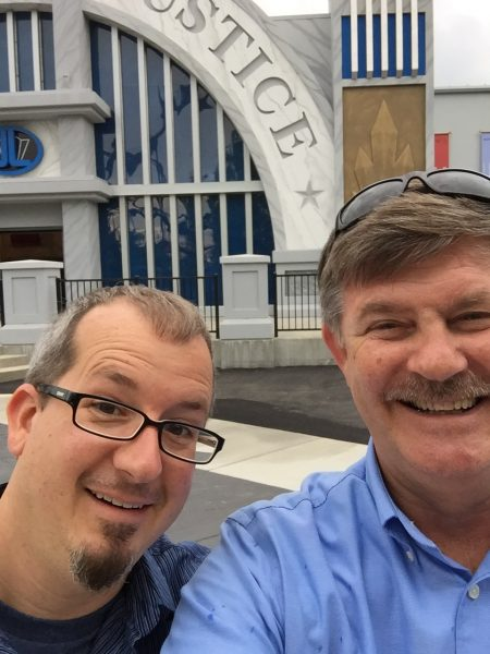 Sally Corp Creative Director Rich Hill and CEO John Wood