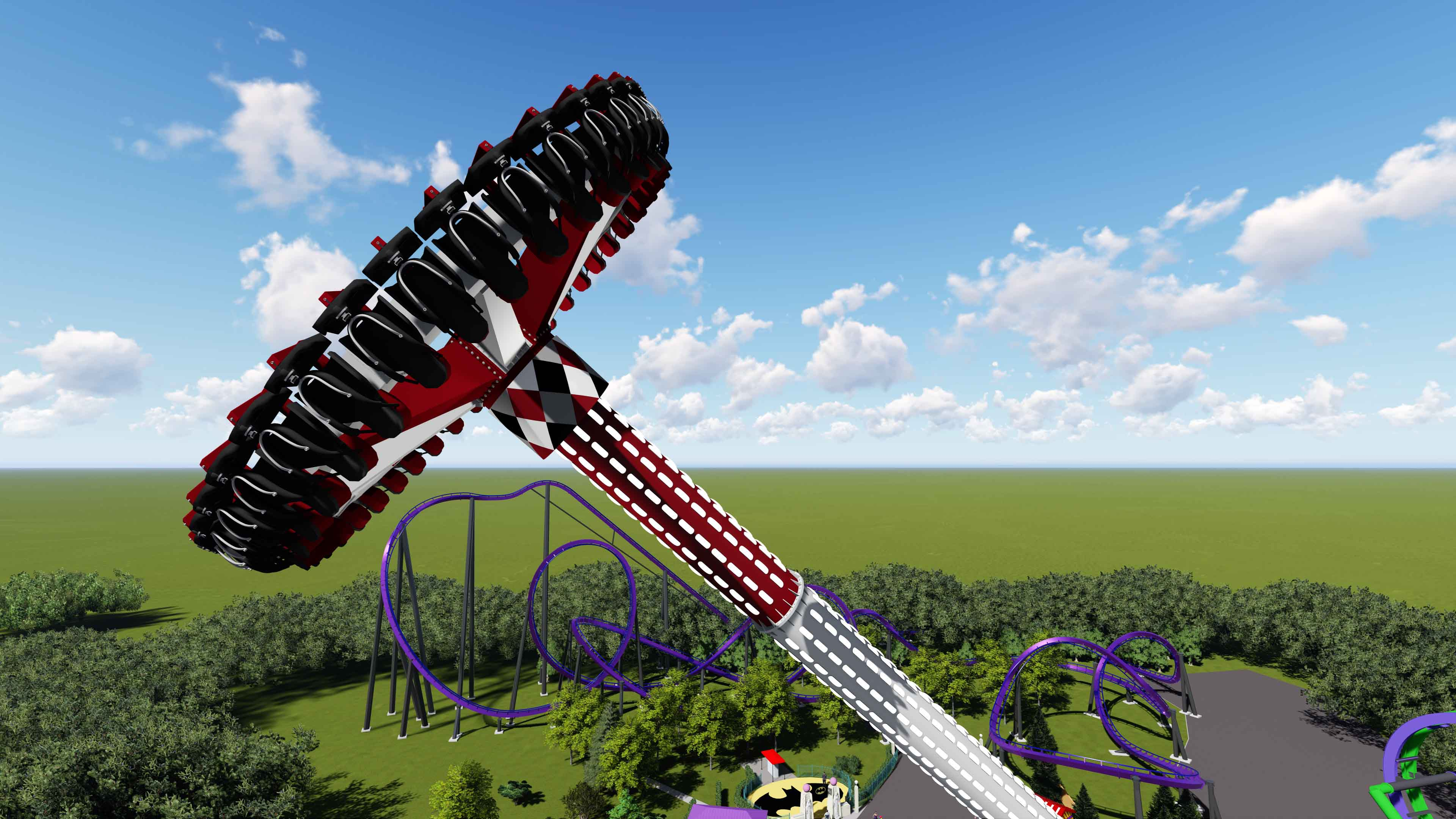 Six Flags New England Six Flags Magic Mountain Adding Pendulum Attractions In 2018